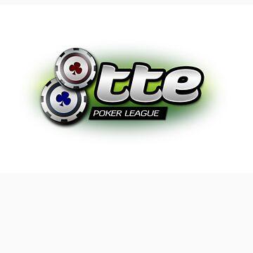 8tte Poker logo V2 by BeachHutMedia