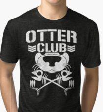 """""""Otter Club: It's Reeeeeeal !!"""" Tri-blend T-Shirt"""
