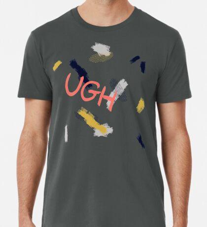 UGH Pattern #redbubble #pattern Premium T-Shirt