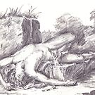 The Death of Abel by Barnaby Edwards