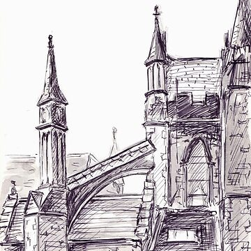 St Patrick's Cathedral, Dublin by BarnabyEdwards