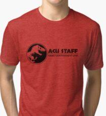 Jurassic World - Asset Containment Unit Tri-blend T-Shirt