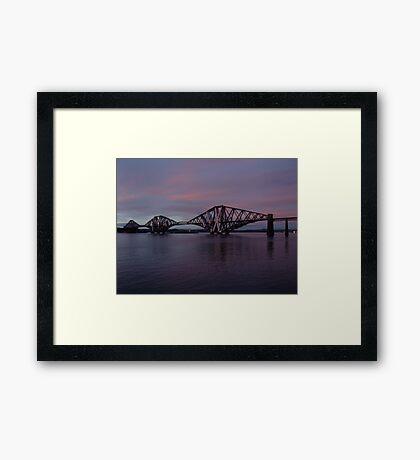 The Bridge at Dusk Framed Print