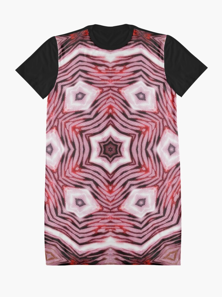 Alternate view of Shatter #8 Graphic T-Shirt Dress