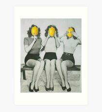 Lemonheads  Art Print