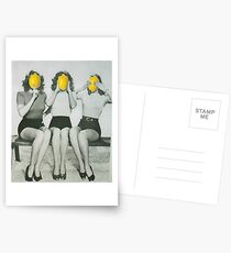 Zitronenköpfe Postkarten
