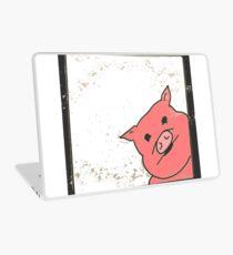 Cartoon pig pink kawaii Laptop Skin