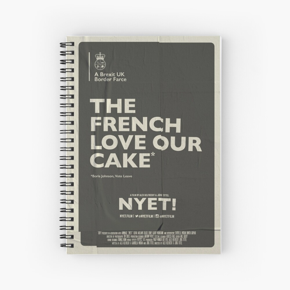 The French Notebook  Spiral Notebook