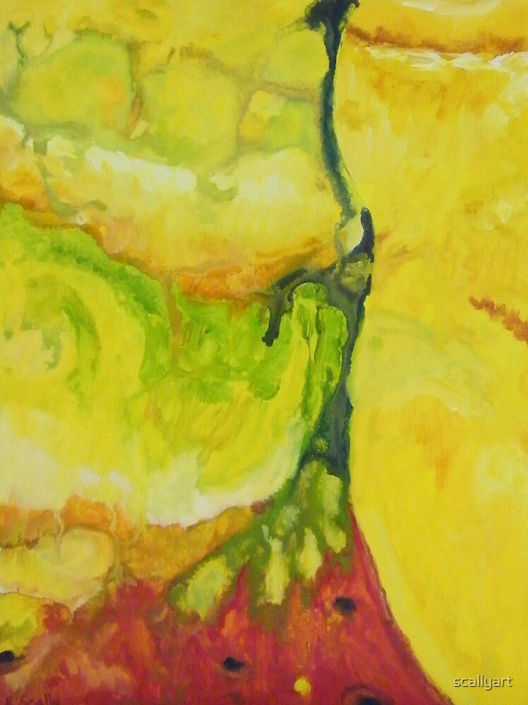 Citric still life abstracted by scallyart
