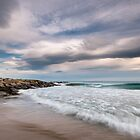 Clouds and Waves at the Breakwater by Ralph Goldsmith