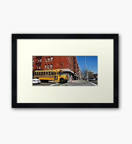 Everyday life 02 Framed Print