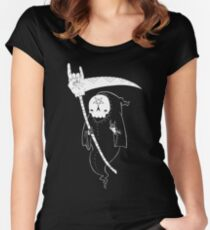 Death Is Metal Women's Fitted Scoop T-Shirt