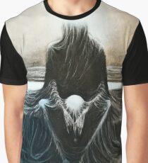 Kopie von Zdzisław Beksiński Grafik T-Shirt