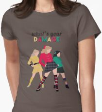 What's Your Damage? - Heathers the Musical Women's Fitted T-Shirt