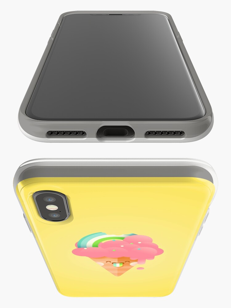 Alternate view of Strawberry Rainbow iPhone Case & Cover