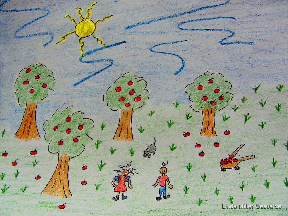 Little Apple Orchard by Linda Miller Gesualdo