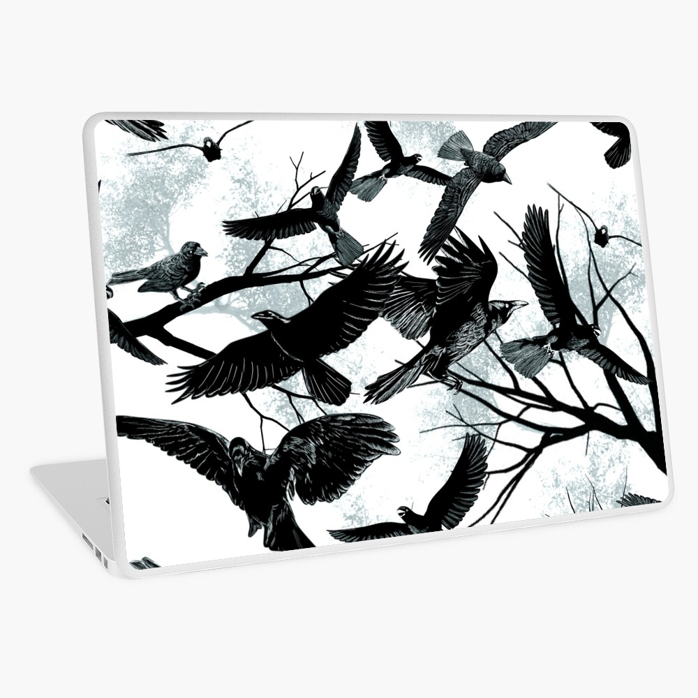 Blackbirds Laptop Skin