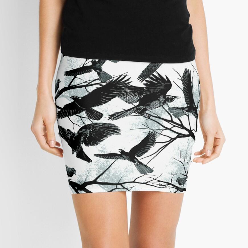 Blackbirds Mini Skirt