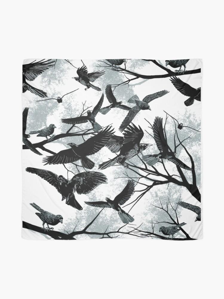Alternate view of Blackbirds Scarf