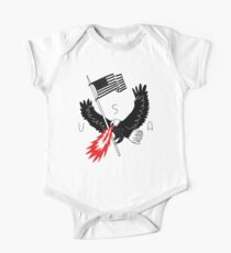 FIRE BREATHING BALD EAGLE OF PATRIOTISM Kids Clothes