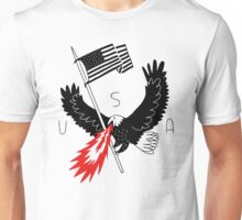 FIRE BREATHING BALD EAGLE OF PATRIOTISM Unisex T-Shirt