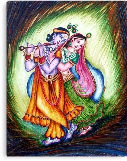 Krishna Leela by Harsh  Malik