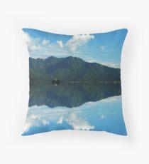 Dal Lake - Breathtaking Impression Of Nature Throw Pillow