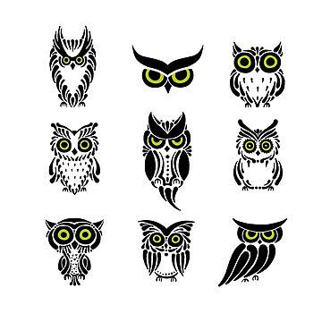 Owl by Kudryashka