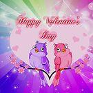 Fröhlichen Valentinstag von Ana Belaj