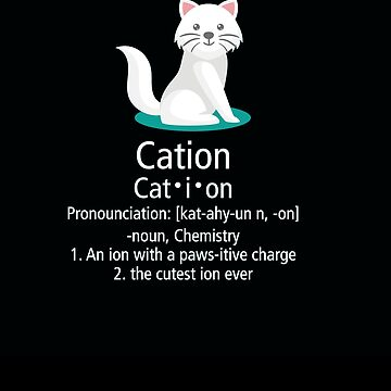 cat ion pawsitive charge by Vroomie