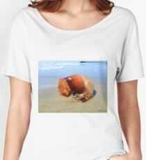 Jellyfish Crab Hitchhiker  Women's Relaxed Fit T-Shirt