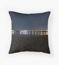 Prawners on the Canning River, WA Throw Pillow