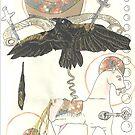 Crucified Venus -Sketchbook page 22 by scallyart