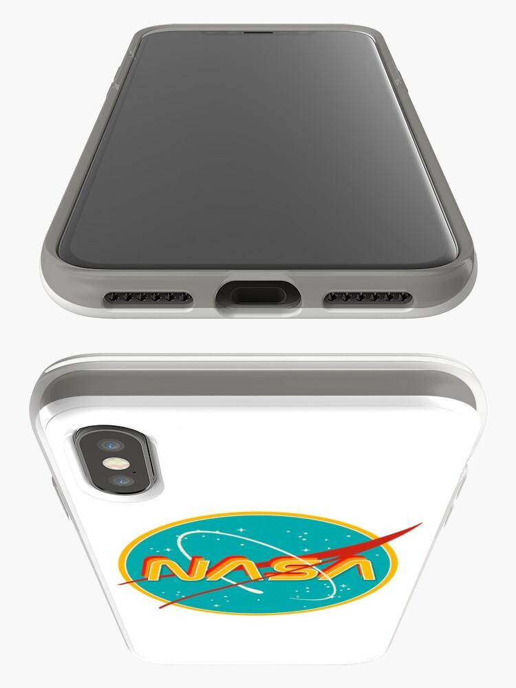 Alternate view of NASA RETRO iPhone Case & Cover
