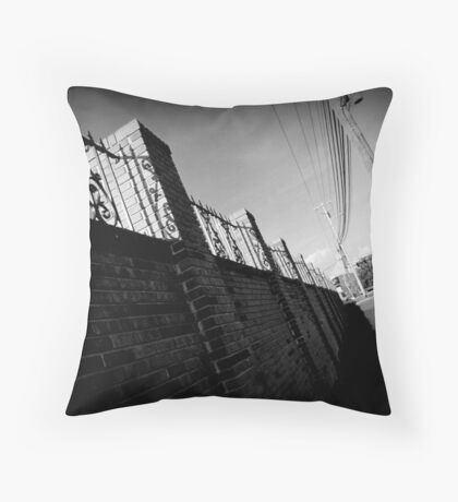 Off Balance Throw Pillow
