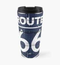 American Route 66 antique style illustration Travel Mug