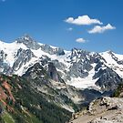 Mount Shuksan from the Chain Lakes Trail near Mount Baker by Jim Stiles