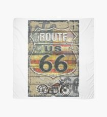 Route 66 vintage style illustration  Scarf