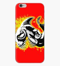 Vinilo o funda para iPhone Feisty Fish Red and Yellow