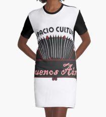 Espacio Cultural Graphic T-Shirt Dress
