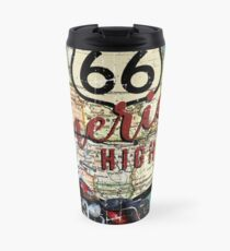 America's Highway - US Route 66  Travel Mug