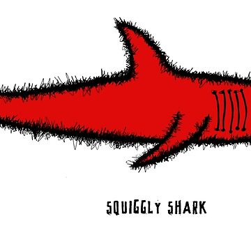 Squiggly shark by kiinderpanzer