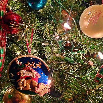Christmas Buddy Ornament by JoeyOConnor