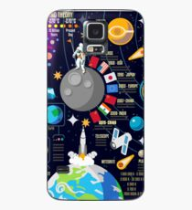Space Universe Infographics Big Bang Case/Skin for Samsung Galaxy