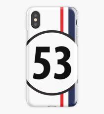 Classic racing graphic - HERBIE iPhone Case/Skin