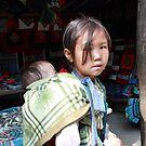 Piggy Back Mother - Sapa, Vietnam 2010 by Odalisque