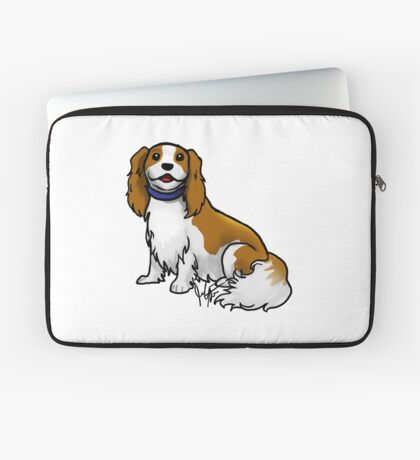 King Charles Cavalier Terrier Laptop Sleeve