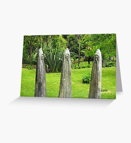 Three Wizards Greeting Card