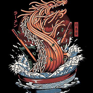 Ramen dragon de ilustrata