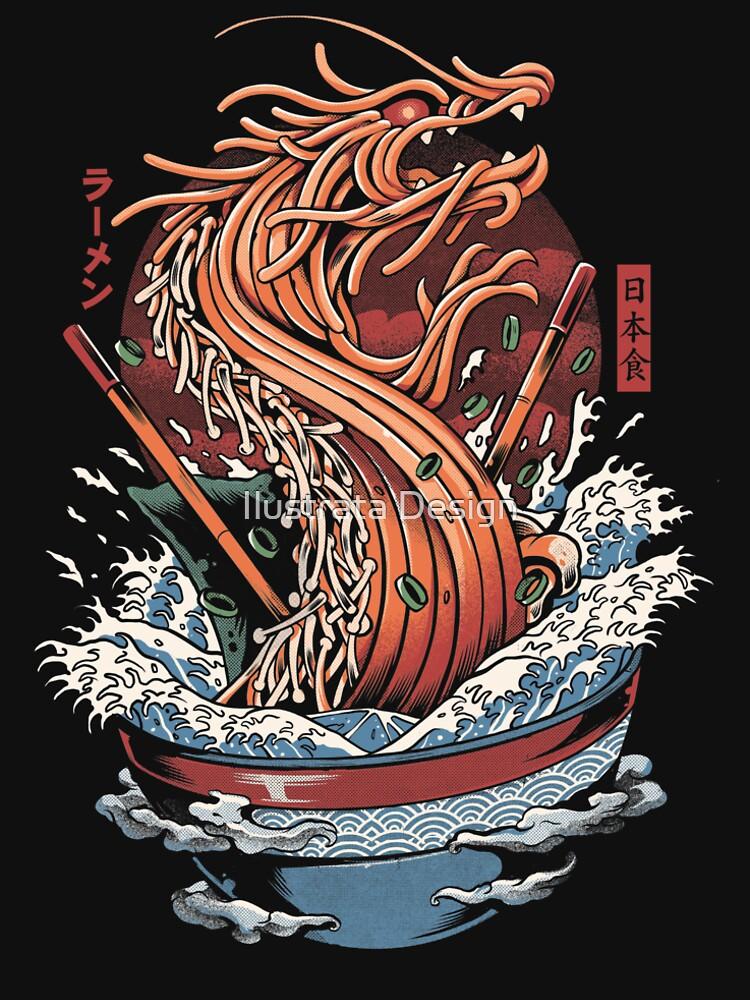 Ramen Dragon by ilustrata